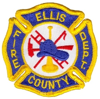 Ellis County Rural Fire Patch